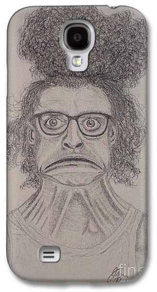 Disdain Galaxy S4 Cases - Egad Galaxy S4 Case by Jim Bomkamp