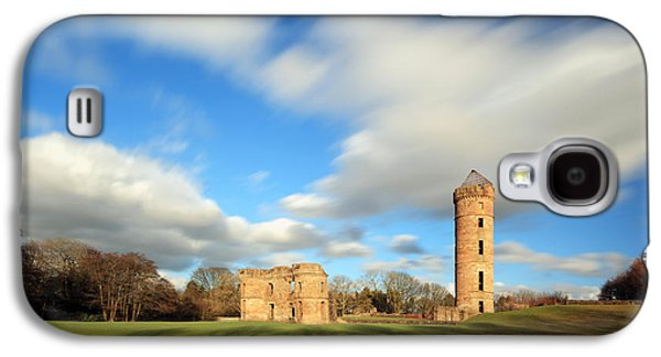 Fantasy Photographs Galaxy S4 Cases - Eglington Castle Galaxy S4 Case by Grant Glendinning