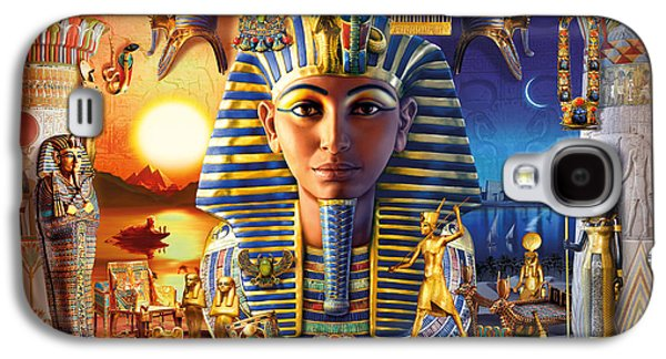 Ancient Galaxy S4 Cases - Egyptian Treasures II Galaxy S4 Case by Andrew Farley