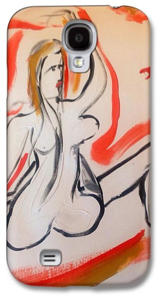 Disorder Paintings Galaxy S4 Cases - Ehler Danlos Galaxy S4 Case by Judith Desrosiers