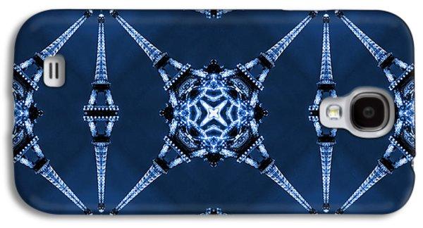 Eiffel Art 18 Galaxy S4 Case by Mike McGlothlen