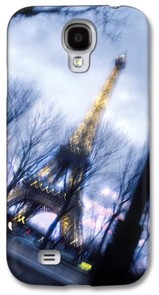 Paris Digital Art Galaxy S4 Cases - Eiffel on the Move Galaxy S4 Case by Mike McGlothlen