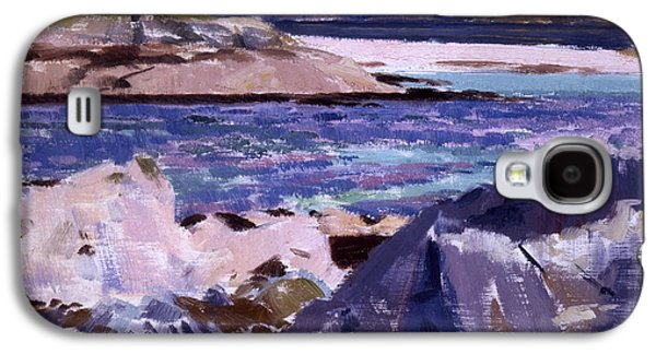 Person Galaxy S4 Cases - Eilean Annraidh from the north end Galaxy S4 Case by Francis Campbell Boileau Cadell