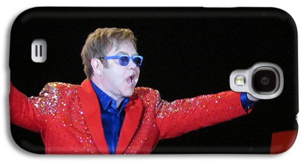 Elton John Photographs Galaxy S4 Cases - EJ plays soldout concert Galaxy S4 Case by Aaron Martens