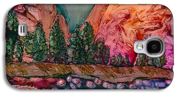 El Capitan Paintings Galaxy S4 Cases - El Capitan Galaxy S4 Case by Alene Sirott-Cope
