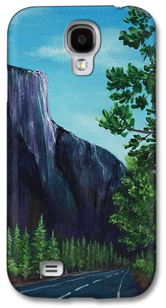 Landmarks Galaxy S4 Cases - El Capitan Galaxy S4 Case by Anastasiya Malakhova