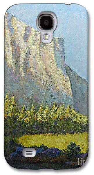 El Capitan Paintings Galaxy S4 Cases - El Capitan Galaxy S4 Case by Linda Riesenberg Fisler