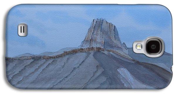 El Capitan Paintings Galaxy S4 Cases - El Capitan - watercolor sketch Galaxy S4 Case by Joel Deutsch