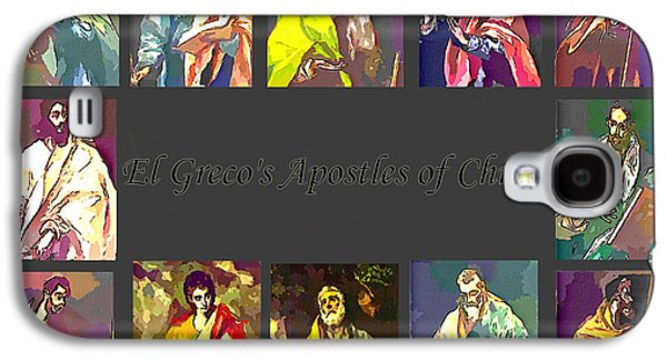 St John The Evangelist Galaxy S4 Cases - El Grecos Apostles of Christ Galaxy S4 Case by Barbara Griffin