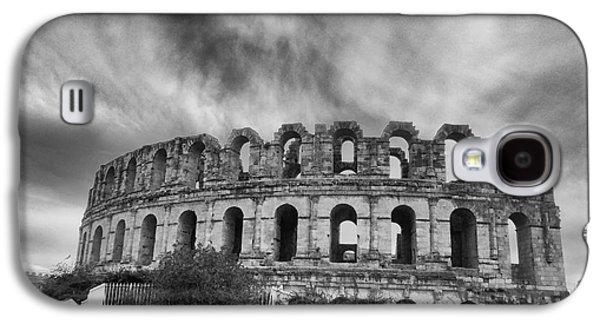 Architectur Galaxy S4 Cases - El Jem Colosseum 2 Galaxy S4 Case by Dhouib Skander
