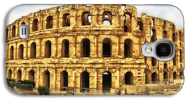 Recently Sold -  - Architectur Galaxy S4 Cases - El Jem Colosseum Galaxy S4 Case by Dhouib Skander