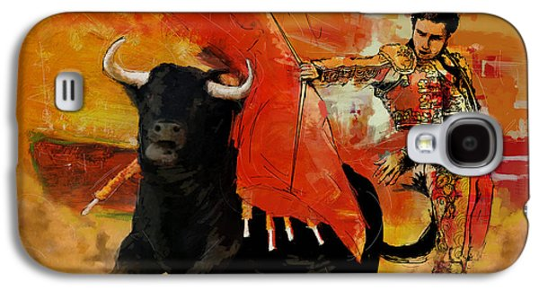 Spain Paintings Galaxy S4 Cases - El Matador Galaxy S4 Case by Corporate Art Task Force