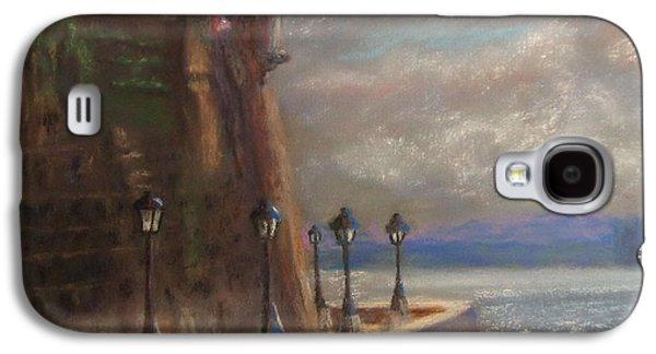Waterscape Pastels Galaxy S4 Cases - El Morro Galaxy S4 Case by Karen Sanabria