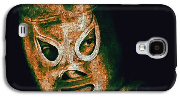 Wing Chee Tong Galaxy S4 Cases - El Santo The Masked Wrestler 20130218 Galaxy S4 Case by Wingsdomain Art and Photography