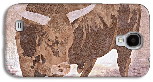 Bulls Tapestries - Textiles Galaxy S4 Cases - El Toro Galaxy S4 Case by Pauline Barrett