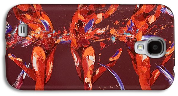 Lively Galaxy S4 Cases - Elation Galaxy S4 Case by Penny Warden