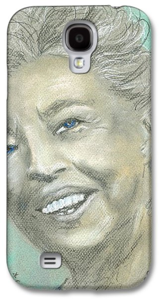 Landmarks Pastels Galaxy S4 Cases - Eleanor Roosevelt Galaxy S4 Case by P J Lewis