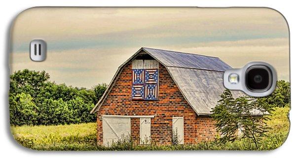 Electric Fan Quilt Barn Galaxy S4 Case by Cricket Hackmann