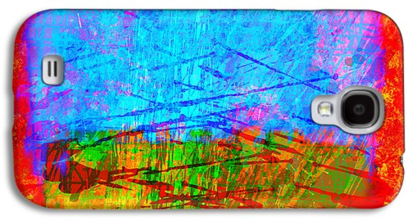 """""""digital Abstract"""" Galaxy S4 Cases - Electric Rothko Galaxy S4 Case by Gary Grayson"""
