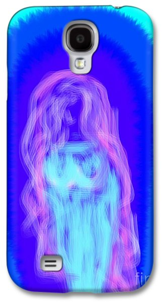 Etc. Digital Art Galaxy S4 Cases - Electric Virgin Galaxy S4 Case by James Eye