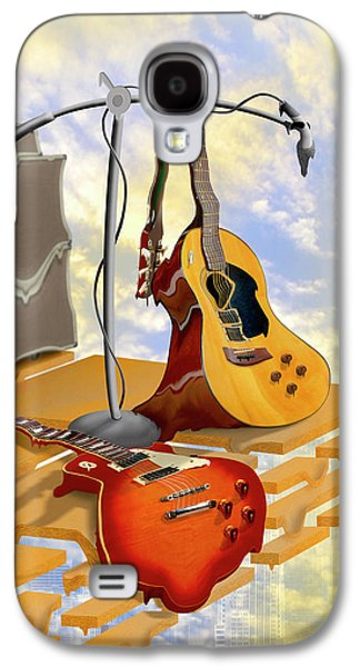 Rock Concerts Galaxy S4 Cases - Electrical Meltdown Galaxy S4 Case by Mike McGlothlen