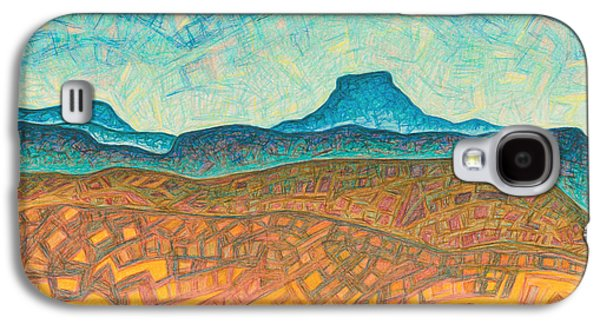 Abstract Landscape Pastels Galaxy S4 Cases - Electromagnetic observation Galaxy S4 Case by Dale Beckman