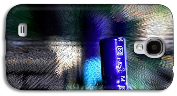 Component Photographs Galaxy S4 Cases - Electronics Galaxy S4 Case by Michael Eingle