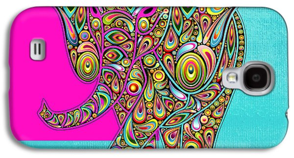 Elefantos - 01ac02aa Galaxy S4 Case by Variance Collections