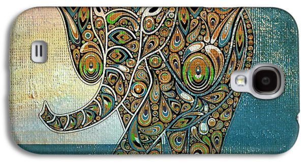 Variants Galaxy S4 Cases - Elefantos - 01ac03at03b Galaxy S4 Case by Variance Collections