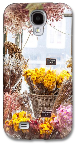 Flower Design Photographs Galaxy S4 Cases - Elegance. Amsterdam Flower Market Galaxy S4 Case by Jenny Rainbow