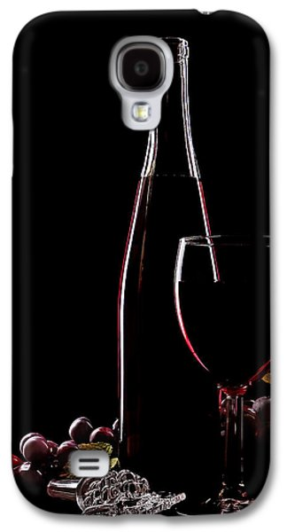 Wine Sipping Galaxy S4 Cases - Elegance Galaxy S4 Case by Marcia Colelli