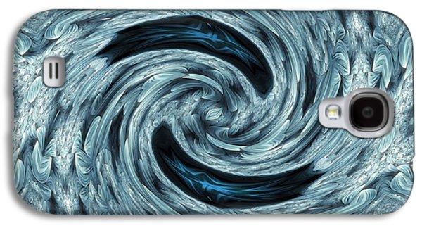 Youthful Galaxy S4 Cases - Elegant Asymmetry Galaxy S4 Case by Georgiana Romanovna