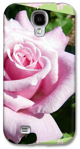 Kate Middleton Galaxy S4 Cases - Elegant Royal Kate Rose Galaxy S4 Case by Will Borden