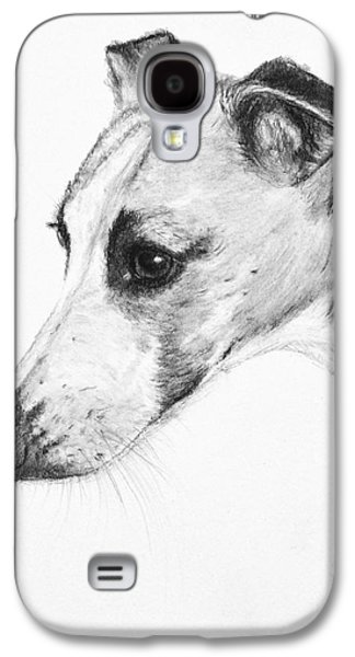 Elegant Whippet Galaxy S4 Case by Kate Sumners