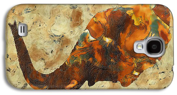 Terrestrial Galaxy S4 Cases - Elephant 2- Happened At The Zoo  Galaxy S4 Case by Jack Zulli