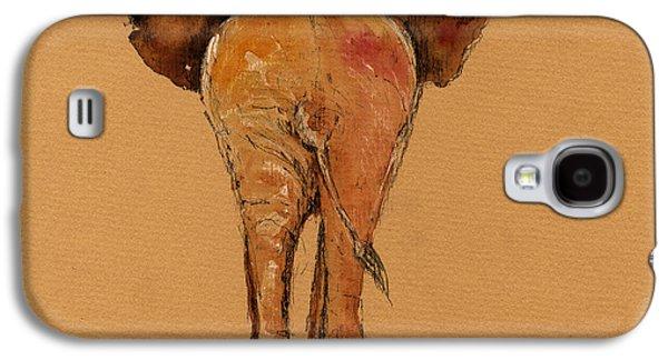 Elephant Back Galaxy S4 Case by Juan  Bosco