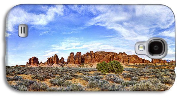 Red Rock Photographs Galaxy S4 Cases - Elephant Butte Galaxy S4 Case by Chad Dutson