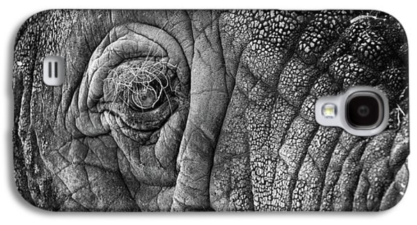 Game Galaxy S4 Cases - Elephant Eye Galaxy S4 Case by Sebastian Musial