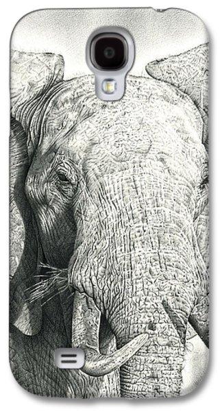 Photorealistic Galaxy S4 Cases - Elephant Galaxy S4 Case by Heidi Vormer