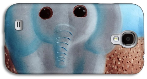 Book Pastels Galaxy S4 Cases - Elephant Galaxy S4 Case by Joshua Maddison
