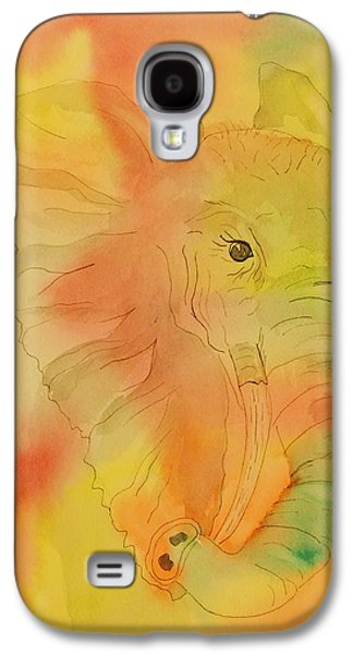 Nature Abstract Galaxy S4 Cases - Elephant Mirage Galaxy S4 Case by Ellen Levinson