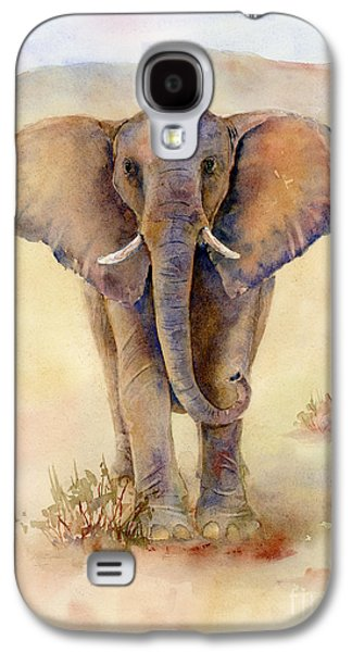 Tusk Galaxy S4 Cases - Elephant Que Galaxy S4 Case by Amy Kirkpatrick