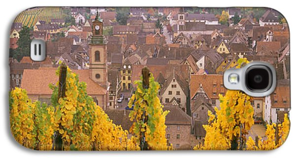 Haut Galaxy S4 Cases - Elevated View Of The Riquewihr Galaxy S4 Case by Panoramic Images