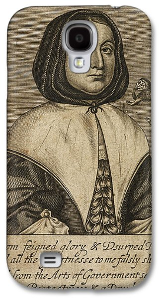Elizabeth Cromwell Galaxy S4 Case by British Library