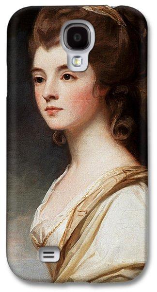 Elizabeth Galaxy S4 Cases - Elizabeth Duchess of Sutherland Galaxy S4 Case by George Romney