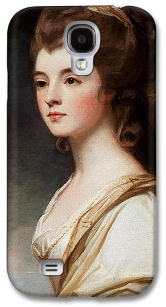 Headshot Galaxy S4 Cases - Elizabeth Duchess of Sutherland Galaxy S4 Case by George Romney