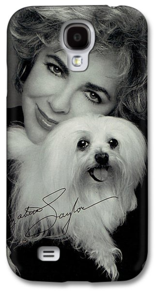 Recently Sold -  - Puppy Digital Galaxy S4 Cases - Elizabeth Taylor And Friend Galaxy S4 Case by Studio Photo