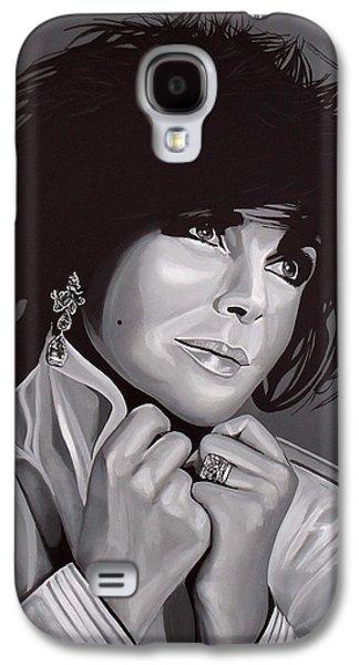 Elizabeth Taylor Galaxy S4 Case by Paul Meijering