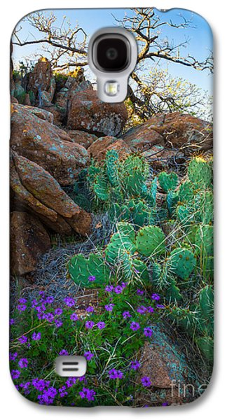 Wildlife Refuge. Galaxy S4 Cases - Elk Mountain Flowers Galaxy S4 Case by Inge Johnsson