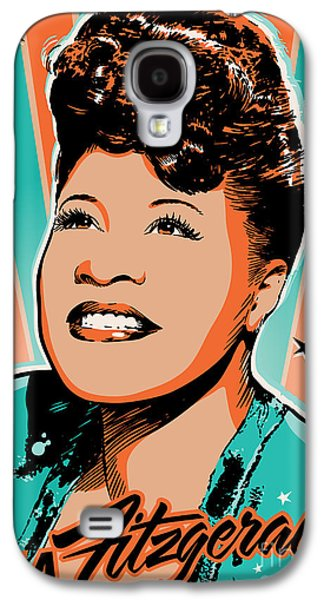 Best Sellers -  - Business Galaxy S4 Cases - Ella Fitzgerald Pop Art Galaxy S4 Case by Jim Zahniser